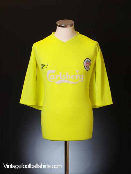 2003-05 Liverpool Reebok Training Shirt XXL