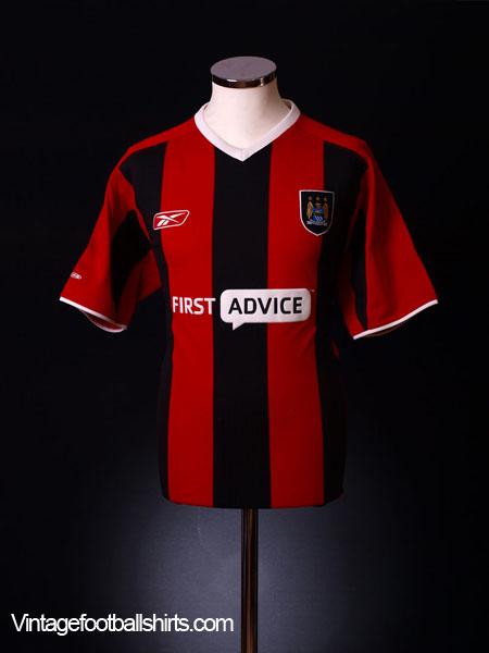 2003-05 Manchester City Away Shirt *Mint* L