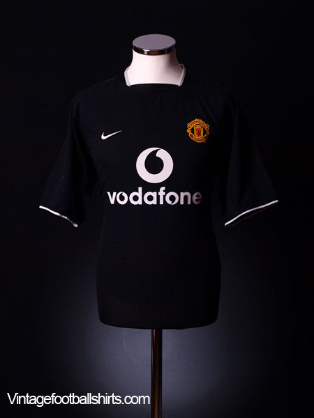 2003-05 Manchester United Away Shirt L