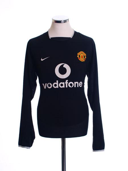 2003-05 Manchester United Away Shirt L/S L