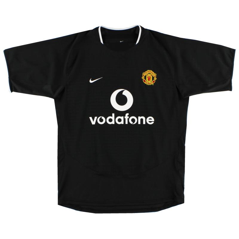 2003-05 Manchester United Away Shirt L.Boys - 491681