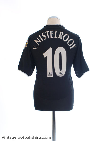 2003-05 Manchester United Away Shirt v. Nistelrooy #10 *Mint* M - 112677
