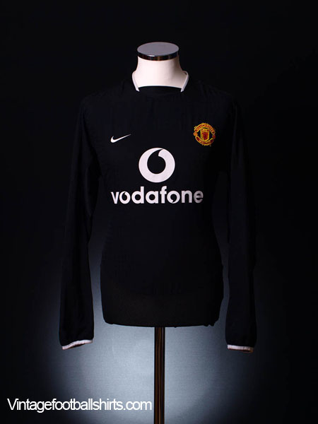 2003-05 Manchester United Away Shirt L/S L