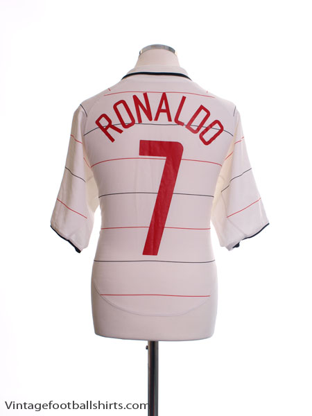 2003-05 Manchester United CL Third Shirt Ronaldo #7 XL