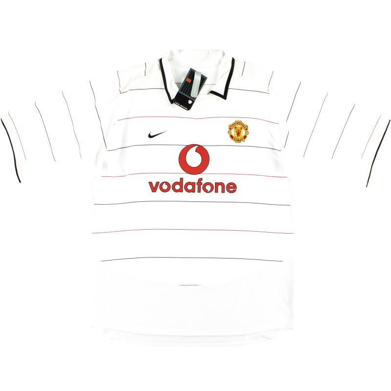 2003-05 Manchester United Nike Third Shirt *w/tags* XXL - 112679