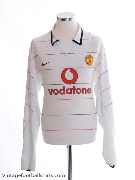 2003-05 Manchester United Third Shirt L/S XL