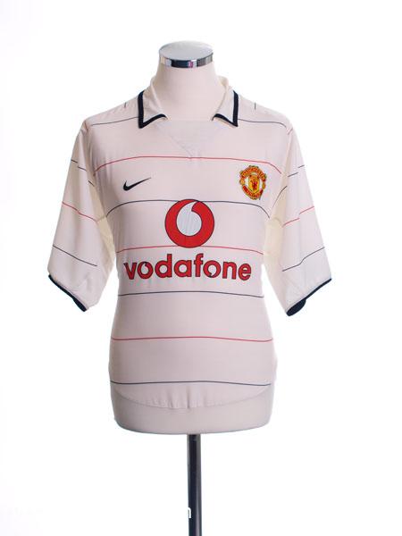 2003-05 Manchester United Third Shirt L