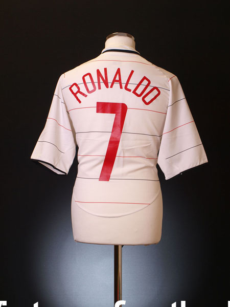 8d7d52b05 2003-05 Manchester United Third Shirt Ronaldo  7 L for sale