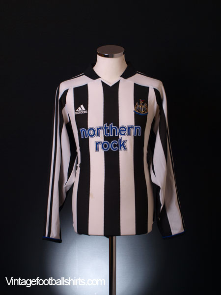2003-05 Newcastle Home Shirt L/S S