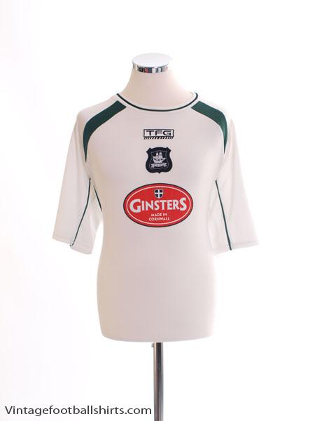 2003-05 Plymouth Away Shirt L