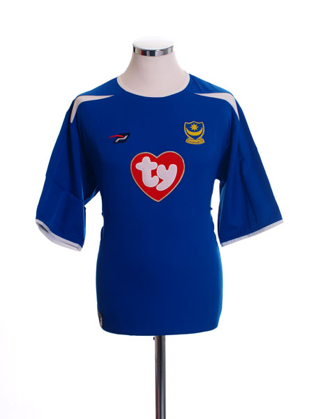 2003-05  Portsmouth Home Shirt XXL