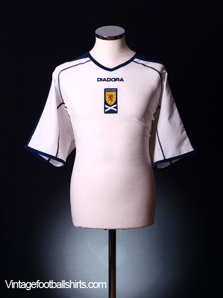2003-05 Scotland Away Shirt M