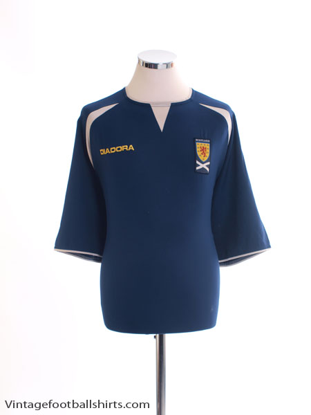 2003-05 Scotland Home Shirt XL