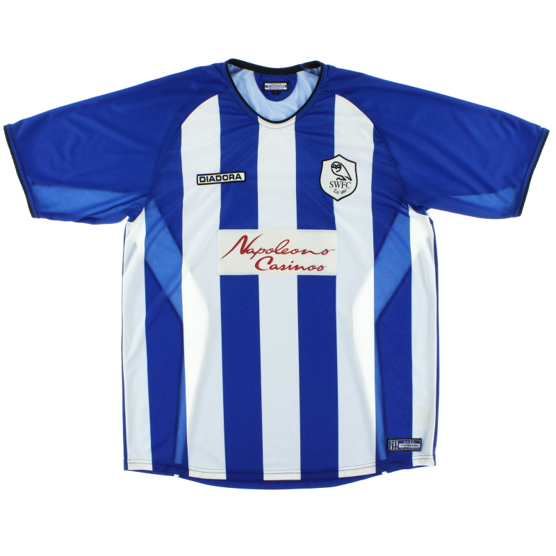 2003-05 Sheffield Wednesday Home Shirt *Mint* L