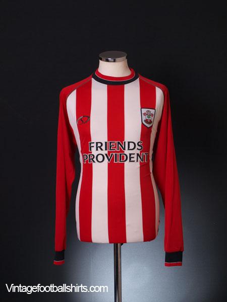 2003-05 Southampton Home Shirt L/S M