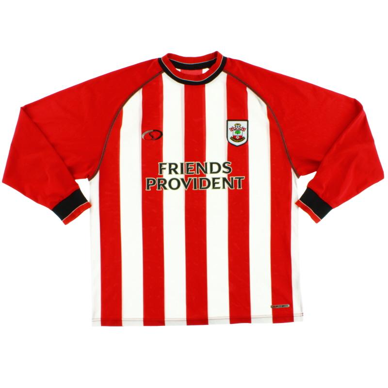 2003-05 Southampton Home Shirt L/S XL