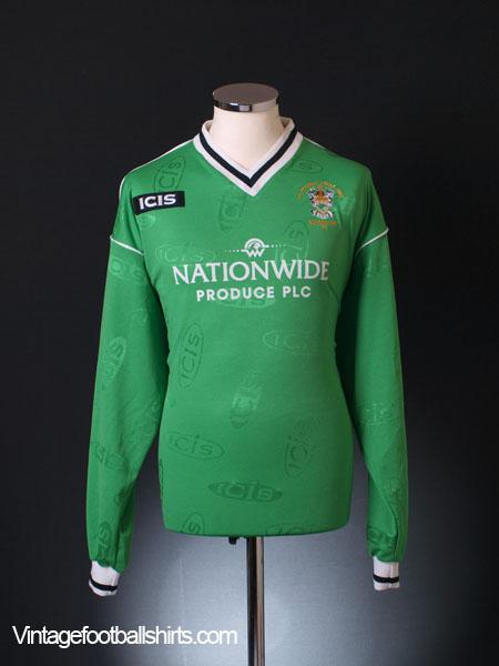 2003 Burscough 'FA Trophy Final' Home Shirt L/S XL