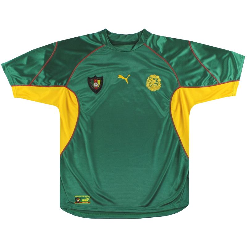 2003 Cameroon Puma Home Shirt XL