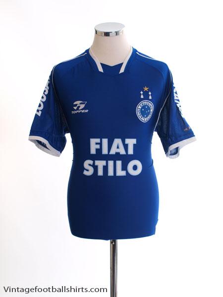 2003 Cruzeiro Home Shirt #8 S