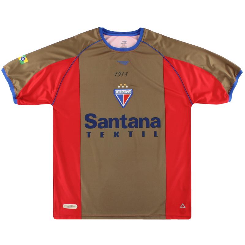2003 Fortaleza Penalty Third Shirt #10 XL