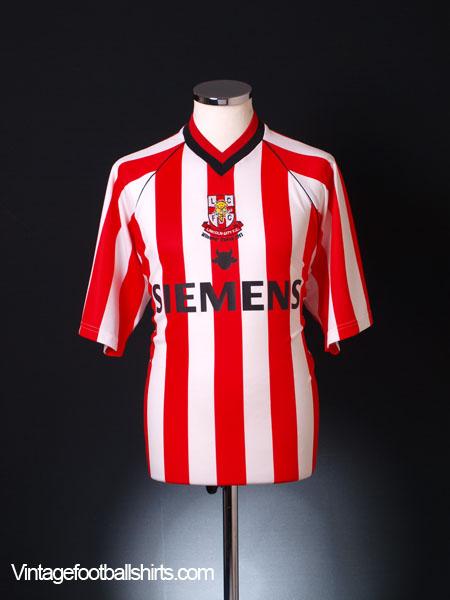 2003 Lincoln City 'Millennium Stadium 2003' Shirt L