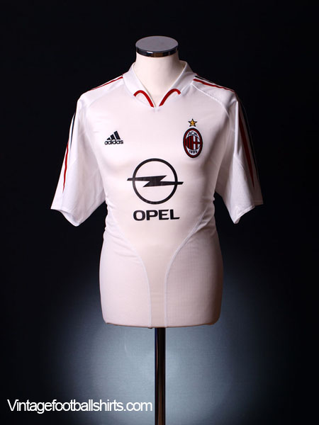 2004-05 AC Milan Away Shirt L
