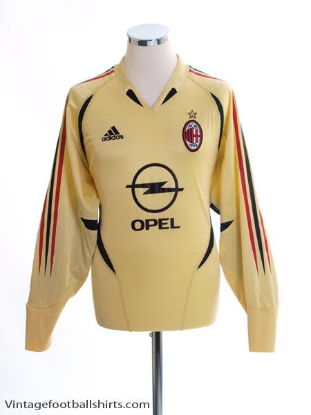 2004-05 AC Milan Goalkeeper Shirt M