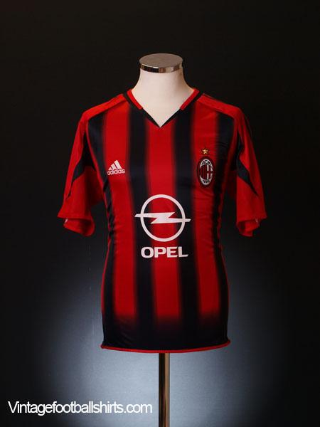 2004-05 AC Milan Home Shirt XL