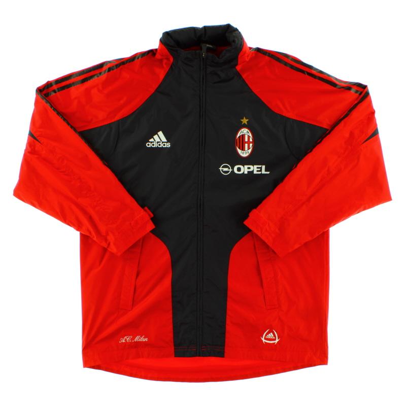 2004-05 AC Milan Rain Jacket *Mint* M - 369279