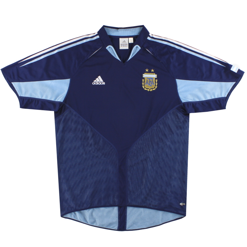 2004-05 Argentina adidas Away Shirt *Mint* L - 645785