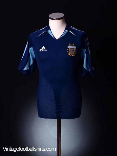 2004-05 Argentina Away Shirt L