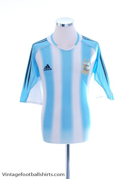 2004-05 Argentina Home Shirt L - 645789