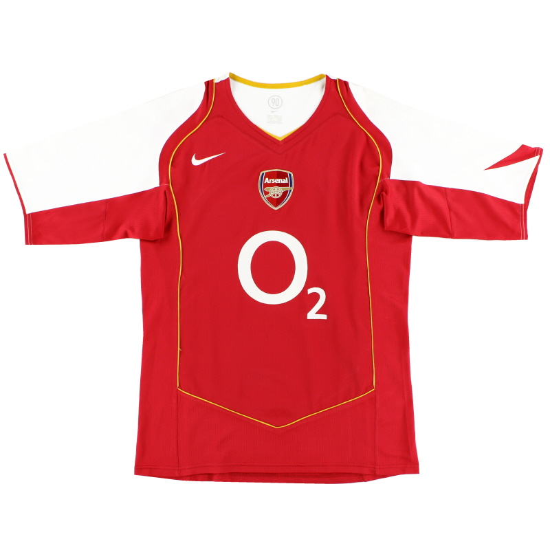 2004-05 Arsenal Nike Home Shirt M - 118817