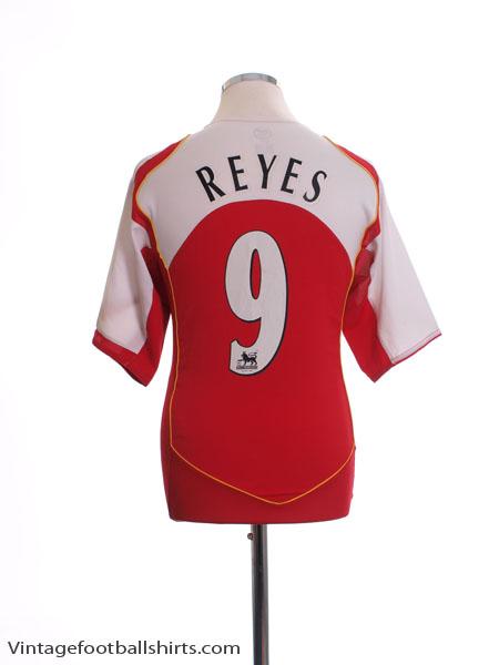 2004-05 Arsenal Home Shirt Reyes #9 M