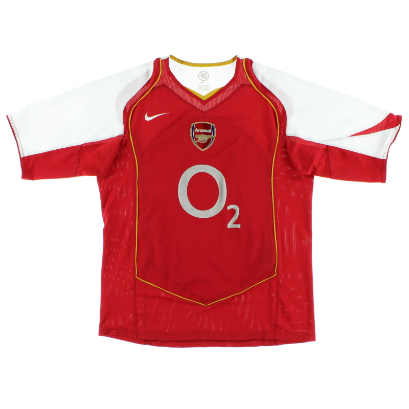 2004-05 Arsenal Home Shirt XL.Boys