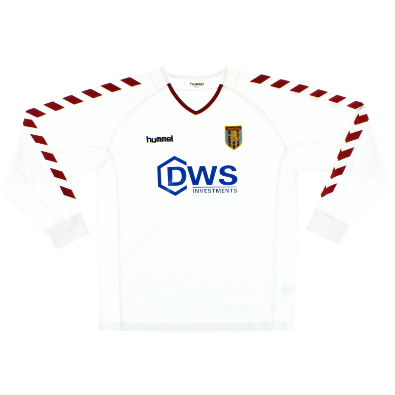 2004-05 Aston Villa Away Shirt L/S L