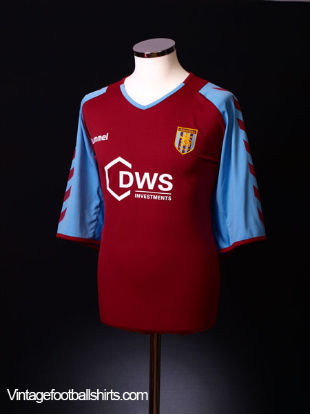 2004-05 Aston Villa Home Shirt XXL