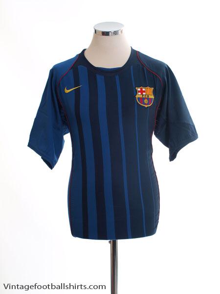 2004-05 Barcelona Away Shirt M - 118862