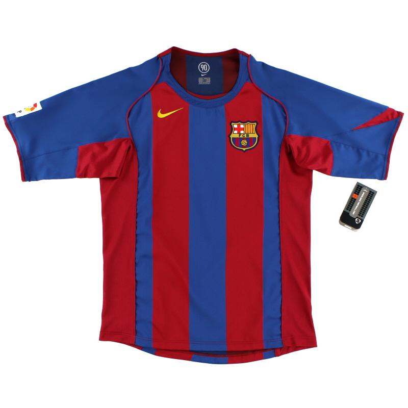 2004-05 Barcelona Home Shirt *BNWT* XXL