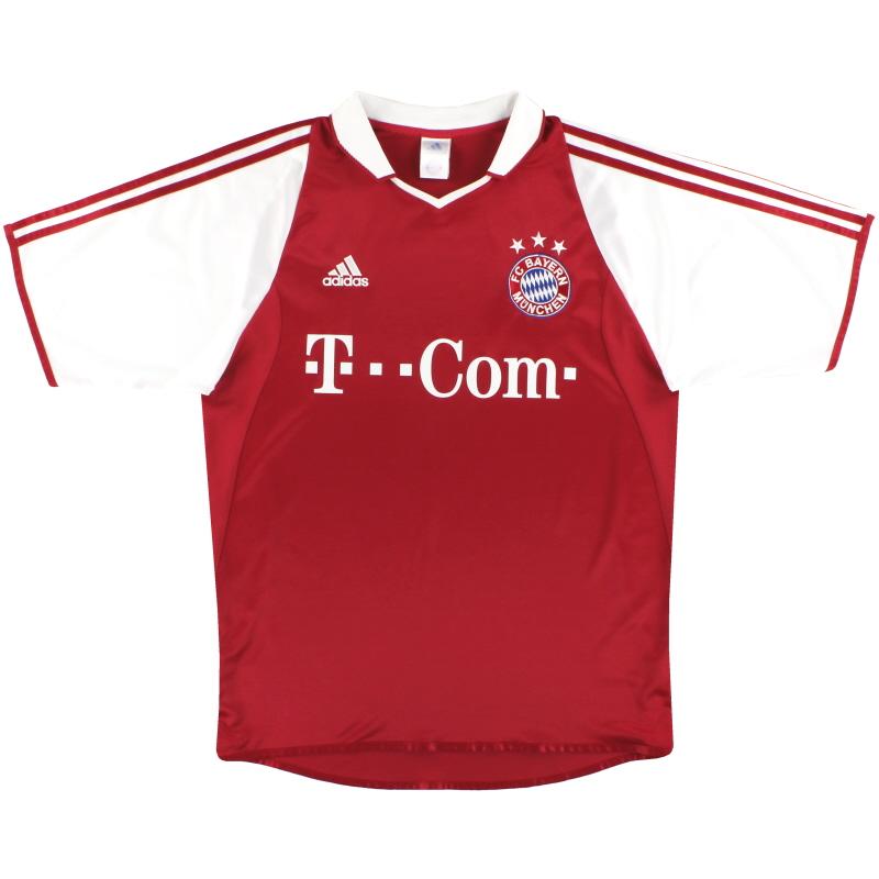 2004-05 Bayern Munich adidas Home Shirt M - 303212