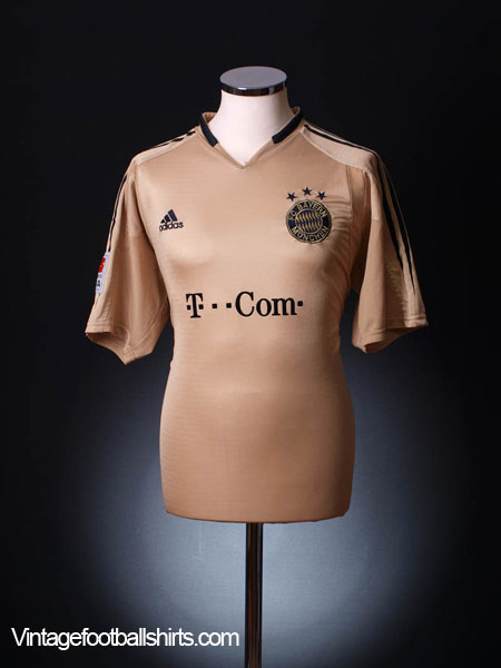 2004-05 Bayern Munich Away Shirt M