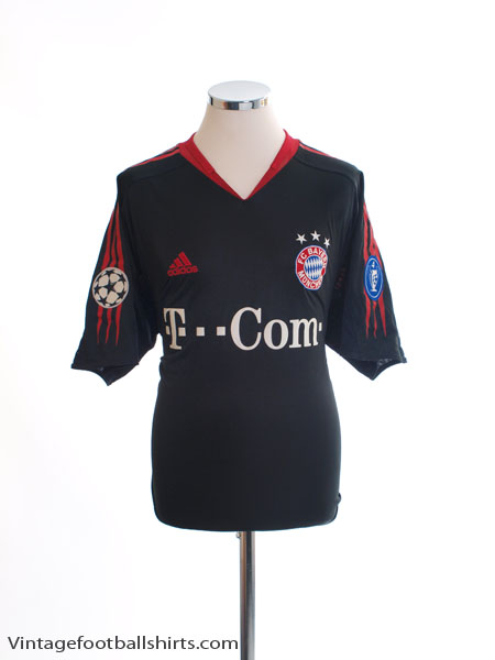 2004-05 Bayern Munich Champions League Shirt M - 369173
