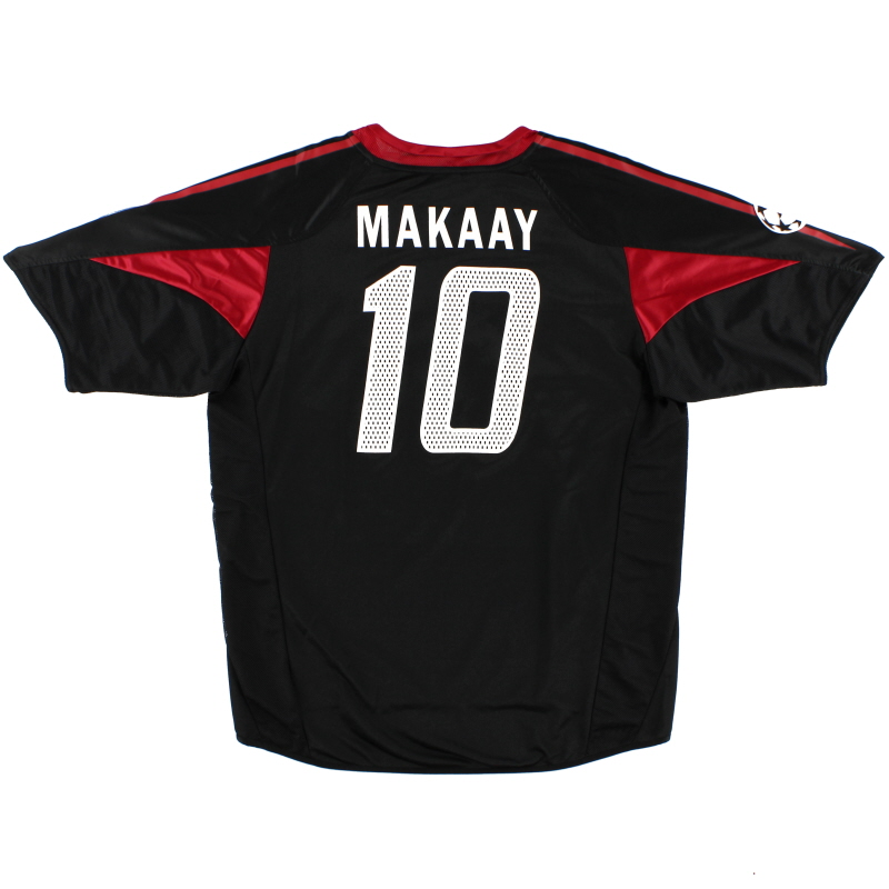 2004-05 Bayern Munich Champions League Shirt Makaay #10 L