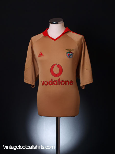 2004-05 Benfica Third Shirt S