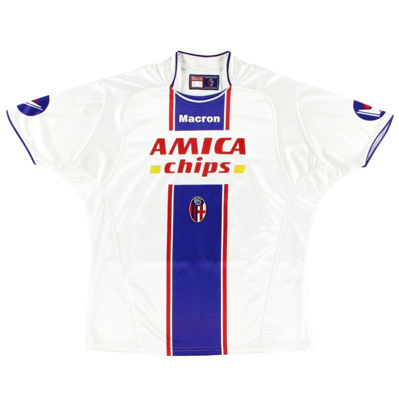 2004-05 Bologna Away Shirt L
