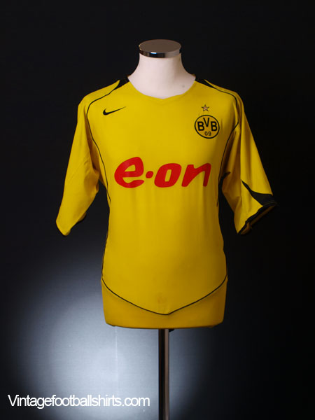 2004-05 Borussia Dortmund Home Shirt XL