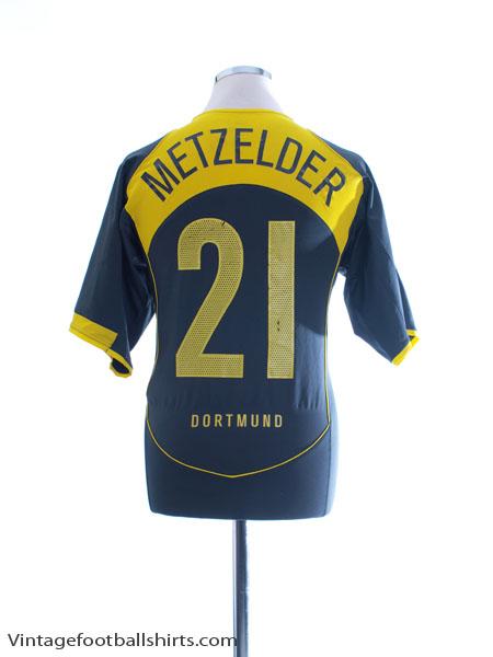 2004-05 Borussia Dortmund Third Shirt Metzelder #21 M - 190282