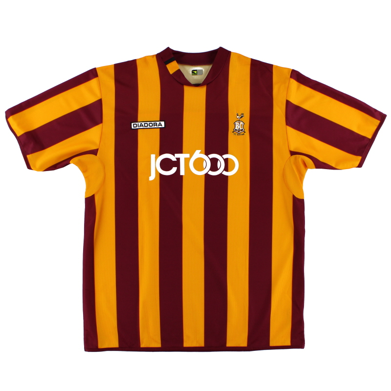 2004-05 Bradford City Home Shirt XL