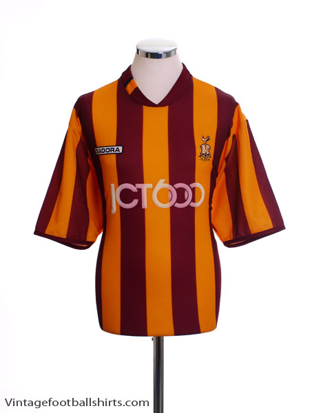 2004-05 Bradford City Home Shirt M
