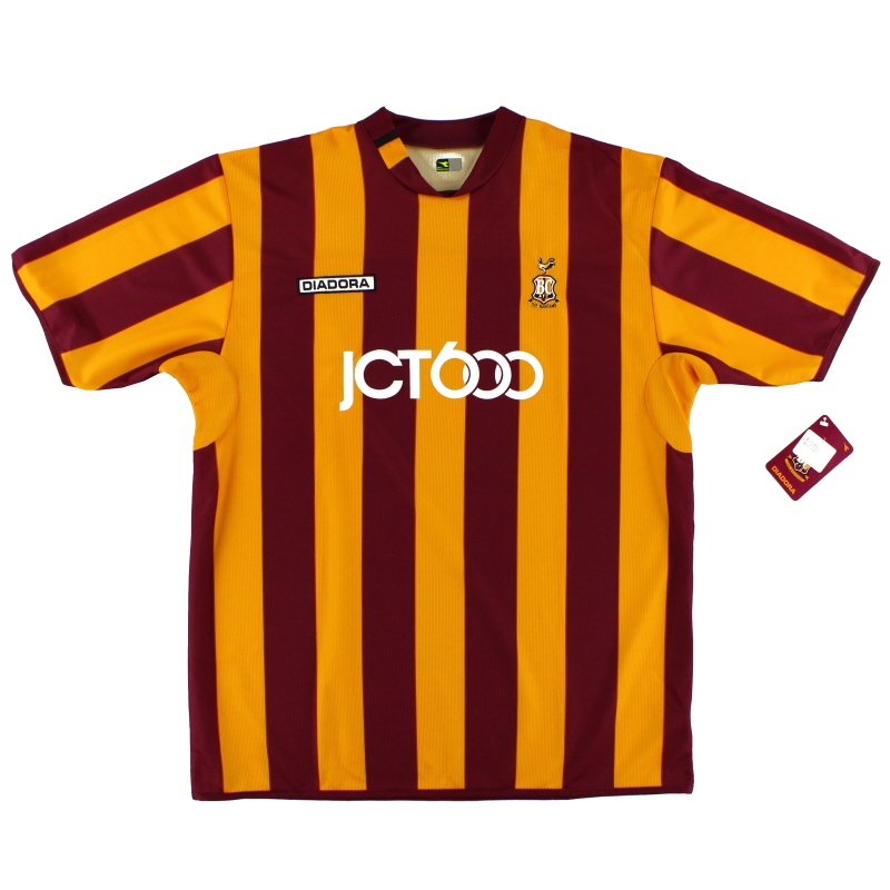 2004-05 Bradford City Home Shirt *BNWT* XL
